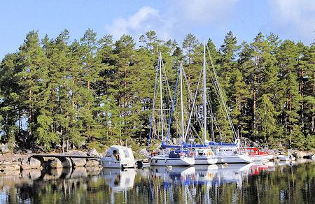 Seuran saarisatama Kaukaluodossa. Kuva: Heikki Palonen