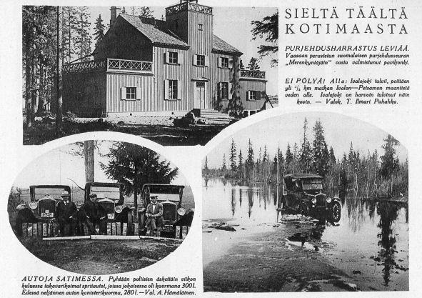Vaasan Merekyntäjien maja 25.6.1927