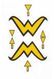 Digitaalisesti uudistettu logo vuodelta 1998.